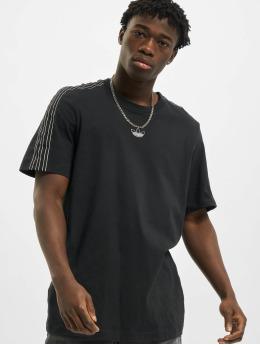 adidas Originals t-shirt Sport 3 Stripes zwart