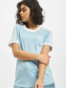 adidas Originals T-shirts 3-Stripes blå