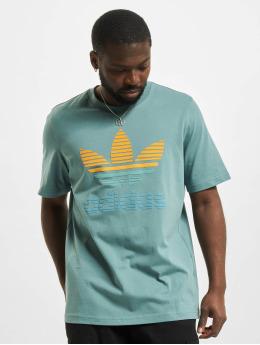 adidas Originals T-shirts Trefoil Ombre grøn