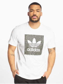 adidas Originals T-shirts Dakari BB hvid