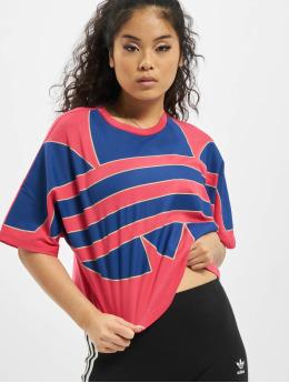 adidas Originals T-shirts Big Trefoil pink