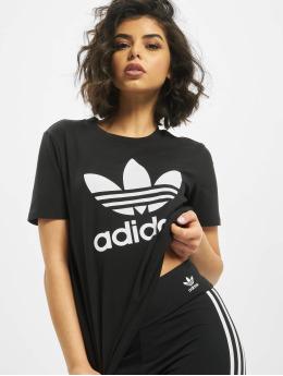 adidas Originals T-shirts Trefoil sort