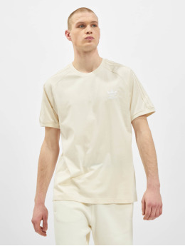 adidas Originals T-Shirty 3-Stripes bezowy