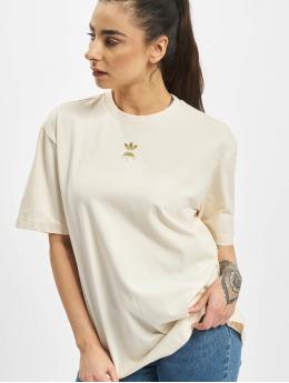 adidas Originals T-Shirty SS  bezowy