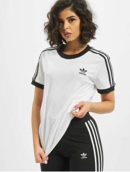 adidas Originals T-Shirty 3 Stripes  bialy