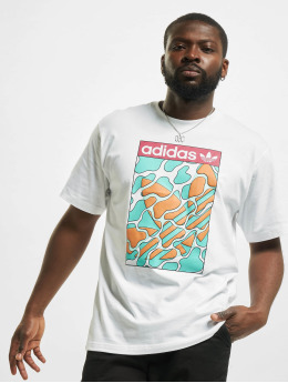 adidas Originals T-Shirty Summer Tongue Label bialy
