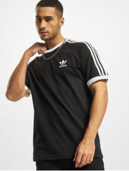 adidas Originals T-Shirty 3-Stripes czarny