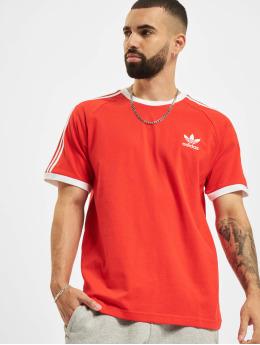 adidas Originals T-Shirty Originals 3-Stripes czerwony