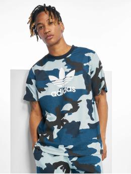 adidas originals T-Shirty Camo  moro