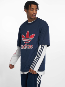 adidas originals T-Shirty  niebieski