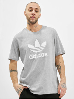 adidas Originals T-Shirty Trefoil T szary