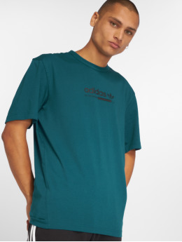 adidas originals T-Shirty Kaval turkusowy