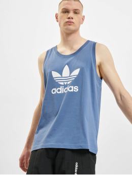 adidas Originals Tanktop Trefoil  blauw