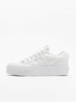 adidas Originals Tennarit Nizza Platform valkoinen