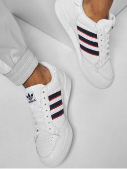 adidas Originals Tennarit Continental 80 Stripe valkoinen