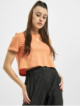 adidas Originals Top Crop  orange