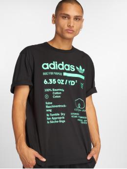 adidas originals Tričká Kaval Grp èierna