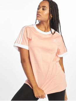 adidas originals Tričká 3 Stripes pink