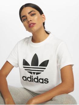 adidas originals Trika Boyfriend bílý