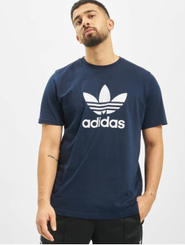 adidas Originals Trika Trefoil  modrý