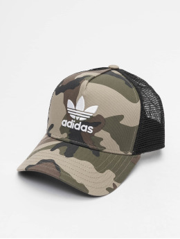 adidas originals Trucker Cap Classic Camo black