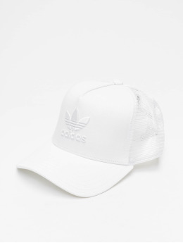 adidas originals trucker cap AF Trucker Trefoil wit