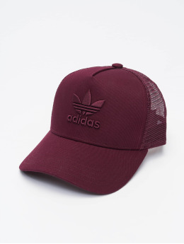 adidas Originals Trucker Caps Aframe Trefoil červený