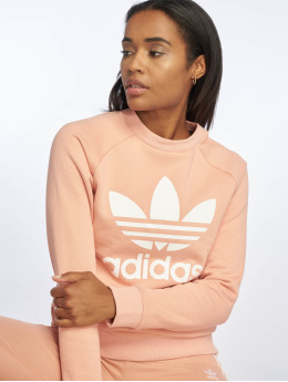 adidas originals trui Trefoil rose