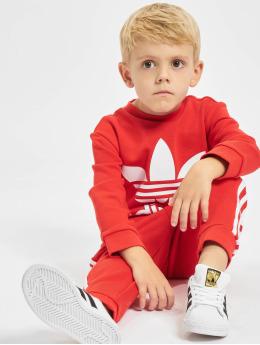 adidas Originals Tuta Crew  rosso