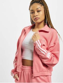 adidas Originals Välikausitakit Track  roosa