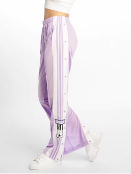 adidas originals Verryttelyhousut TJF11568BLK purpuranpunainen
