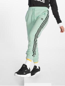 adidas originals Verryttelyhousut Cuf vihreä