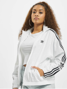 adidas Originals Veste mi-saison légère Lock Up blanc