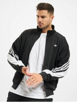 Adidas 3 Stripe Wrap Track Jacket BlackWhite
