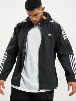 adidas Originals Veste mi-saison légère 3-Stripes  noir