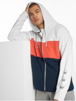adidas originals Vetoketjuhupparit  Originals harmaa
