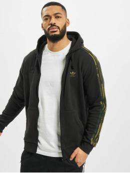adidas Originals Vetoketjuhupparit Camo Full musta