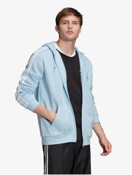 adidas Originals Vetoketjuhupparit 3-Stripes Clesky sininen