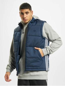 adidas Originals Weste Padded Puff Vest blau