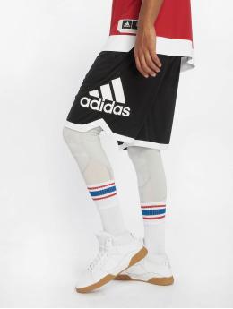 adidas Performance Basketballshorts SPT BOS schwarz