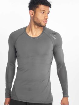 adidas Performance Compressie t-shirts Alphaskin grijs