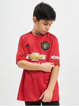 adidas Performance Fußballtrikots Manchester United Home czerwony