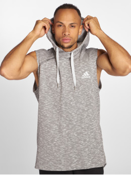adidas Performance Hoodies Shooter šedá