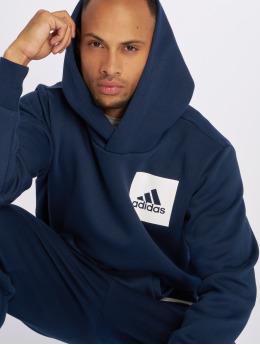 adidas Performance Hoodies ESS Logo modrý