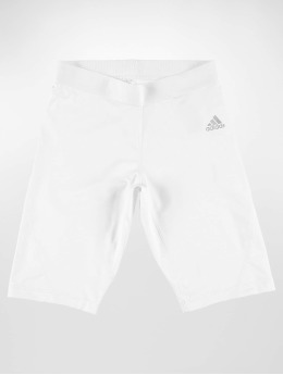 adidas Performance Kompresjon Shorts Alphaskin hvit
