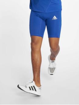 adidas Performance Kompressionsshorts Alphaskin niebieski