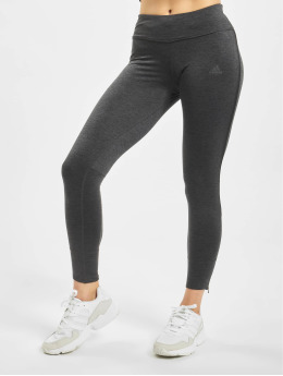 adidas Performance Leggings de sport Own The Run gris