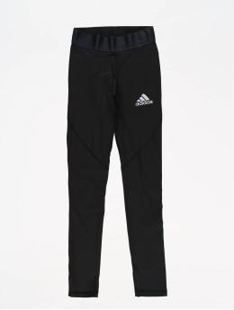 adidas Performance Leggings deportivos Alphaskin  negro