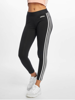 adidas Performance Leggings/Treggings 3S  czarny