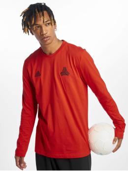 adidas Performance Longsleeves Tango czerwony